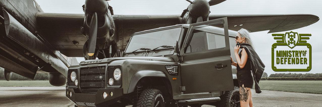 Land Rover Defender Air Deflector Ministry Of Defender