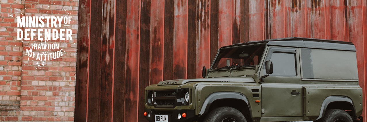 Custom Land Rover